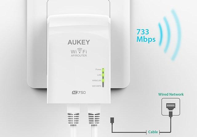 TechnoBlitz.it Recensione Aukey WiFi Repeater WF-R1