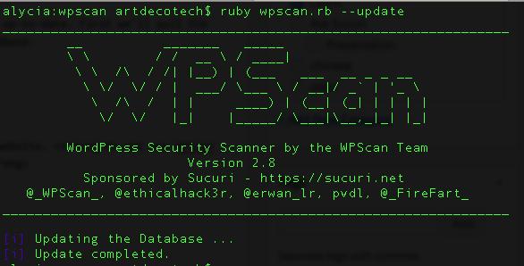 TechnoBlitz.it Come installare e utilizzare WPScan