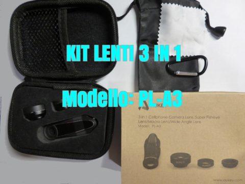 Kit Lenti Aukey PL-A3