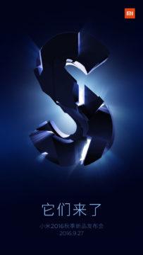 TechnoBlitz.it Xiaomi Mi 5S: la presentazione il 27 settembre