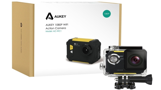 TechnoBlitz.it Recensione Aukey Action Cam 1080p
