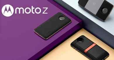 TechnoBlitz.it Motorola rilascia un nuovo aggiornamento per Moto Z