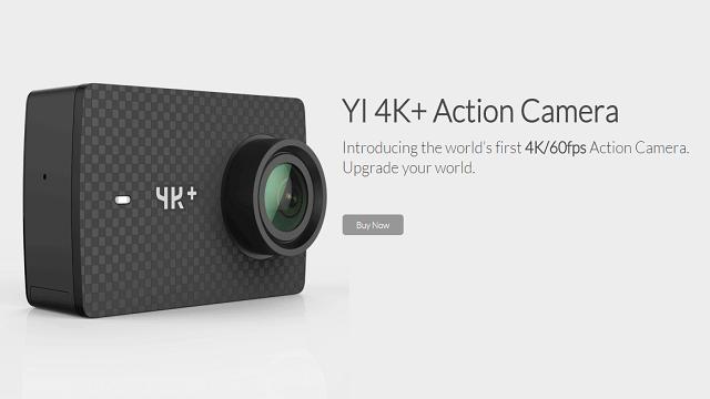 TechnoBlitz.it Yi 4K+, nuova Action Camera 4K/60 FPS