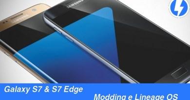 TechnoBlitz.it Modding e Lineage OS su Galaxy S7 ed S7 Edge - Guida