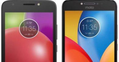 TechnoBlitz.it Immagini leak dei Moto E4 e Moto E4 Plus trapelate online