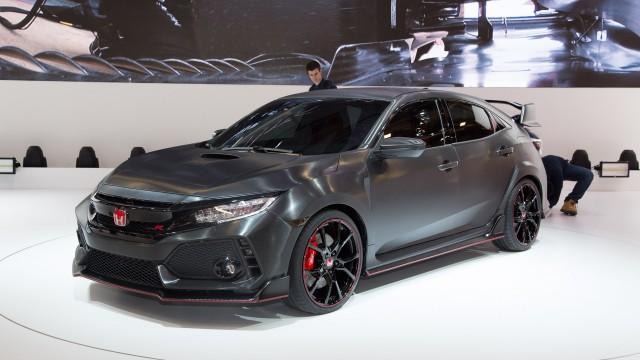 TechnoBlitz.it La nuova Honda Civic Type R batte il record del Nurburgring per le auto a trazione anteriore