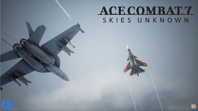 Ace Combat 7 Skies Unknown Milan Games Week 2017