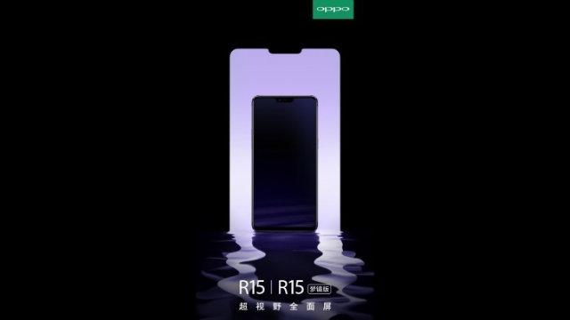 Grazie a Oppo R15, sappiamo che anche OnePlus 6 avrà una notch stile iPhone X