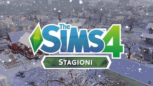 The Sims 4 riceve il nuovo DLC Seasons