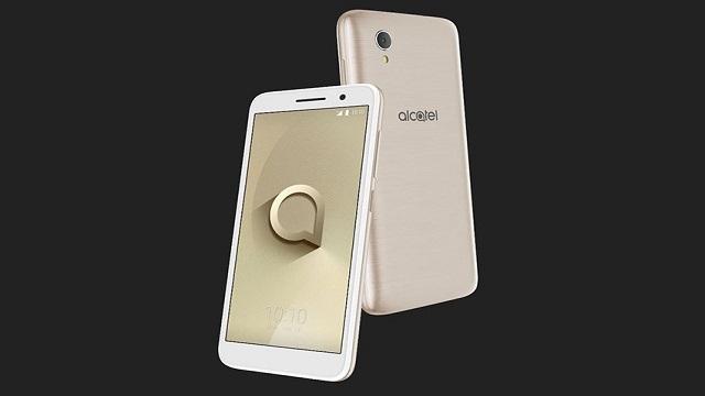 Alcatel 1 arriva in Italia con Android Oreo (Go Edition)