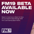 Football Manager 2019: aperta la beta anticipata