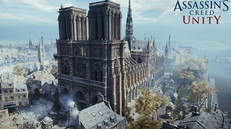 Notre Dame Assassin's Creed Unity