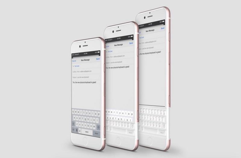 iPhone 7: This amazing concept features full QWERTY