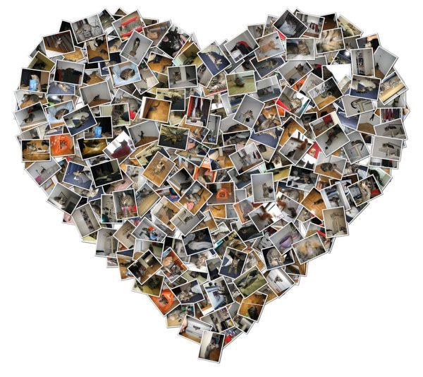 Heart Shape Collage Maker