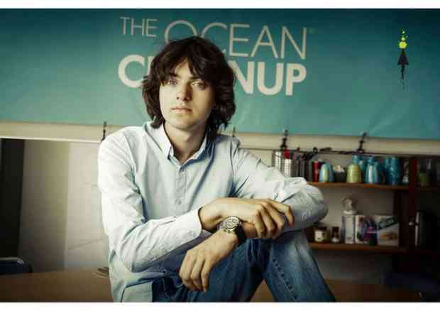 Ocean Cleanup Project - Founder