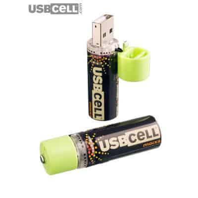 USB rechargeable eco-friendly cells