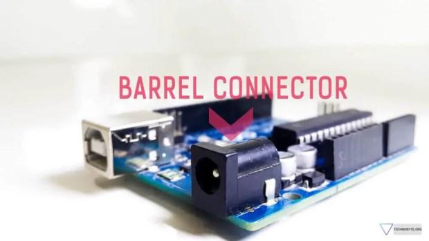Arduino uno barrel connector