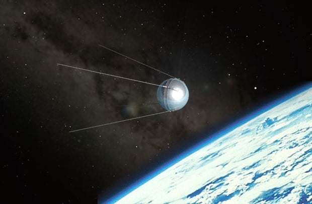 an analysis of the topic of the soviet satellite sputnik On 4 october 1957, the soviet union launched sputnik, the world's first artificial   subject, analysis of the reaction to the crisis from different.