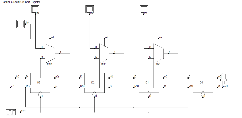 medium resolution of 4 bit piso shift register