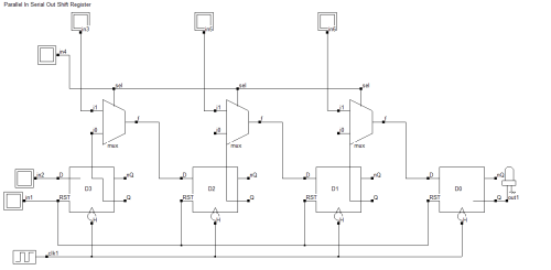 small resolution of 4 bit piso shift register