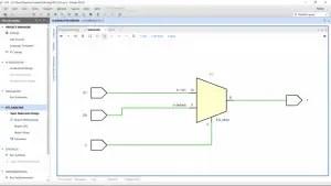 Verilog code for 2:1 Multiplexer (MUX) - All modeling styles