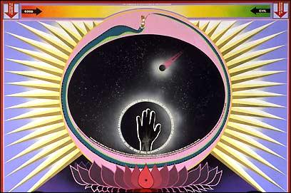 paul laffoley The Cosmos Falls into the Chaos as Shakti Urborosi