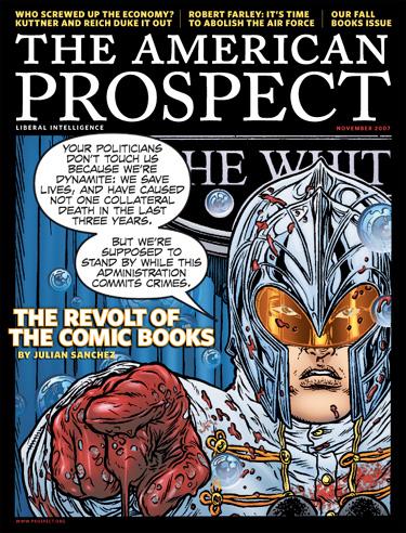 revolt of the comic books