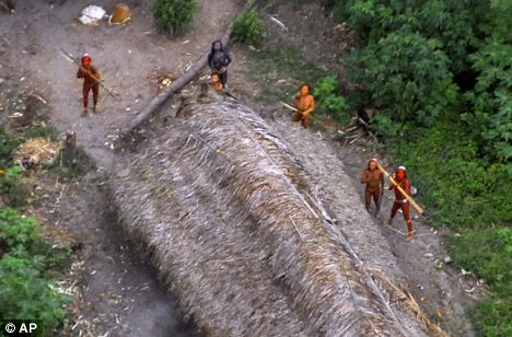 pictures of one of Earth\'s last uncontacted tribes