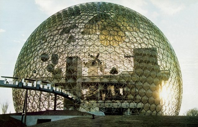 U.S. Pavilion for the 1967 World's Fair, in Montreal