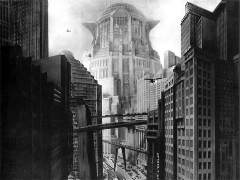 metropolis cityscape