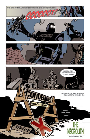 new mister x series from dark horse