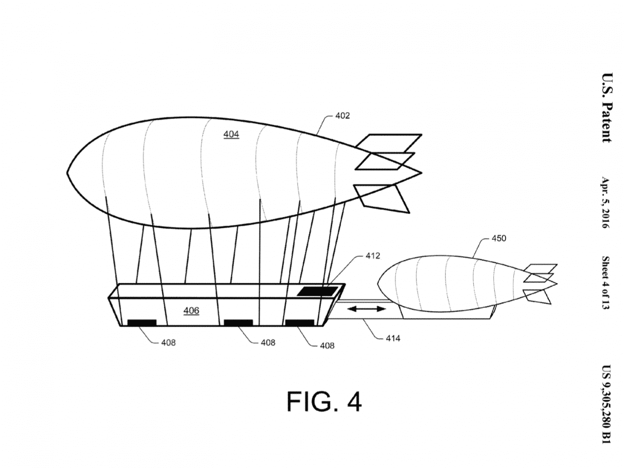 Amazon Eyes Warehouse Blimps And Delivery Drones To