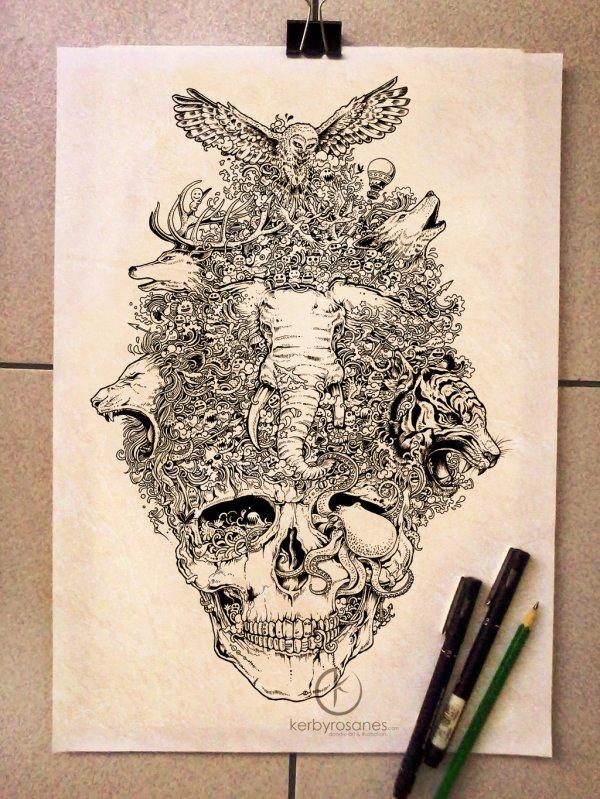 Dive Amazing World Of Sketchbook Illustrations