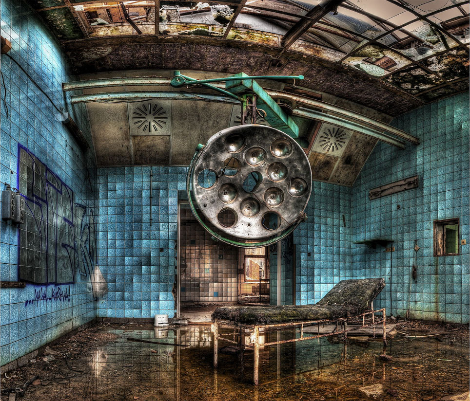 14 Most Fascinating Abandoned Places Of The World Photo Galley
