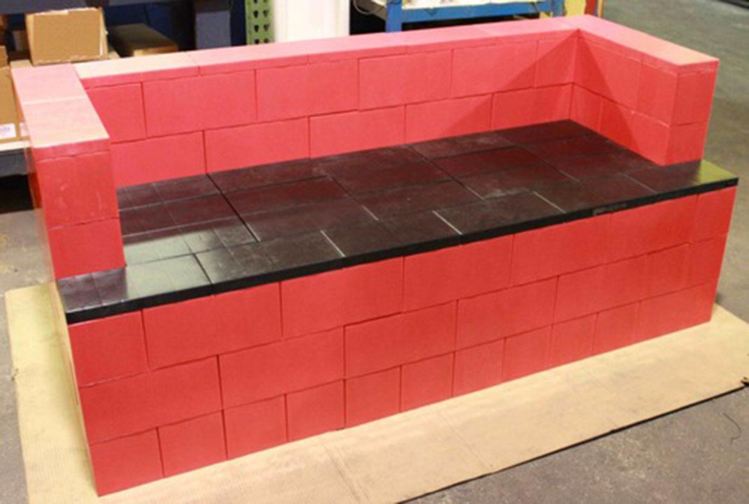 Use These Giant LEGO Bricks To Build Human Size Furniture
