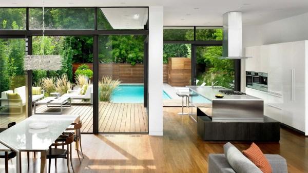 Modern House Interior Open Floor Plan