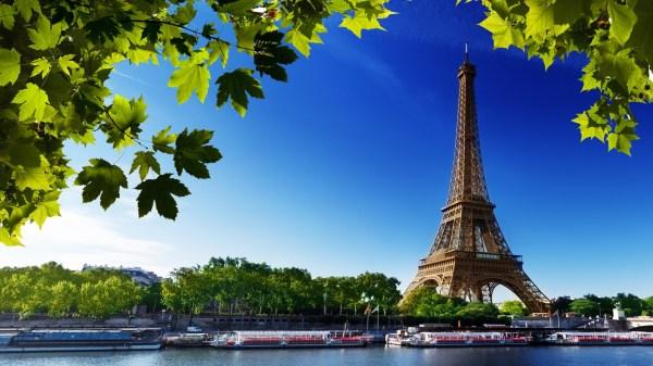 Eiffel Tower Paris France Summer