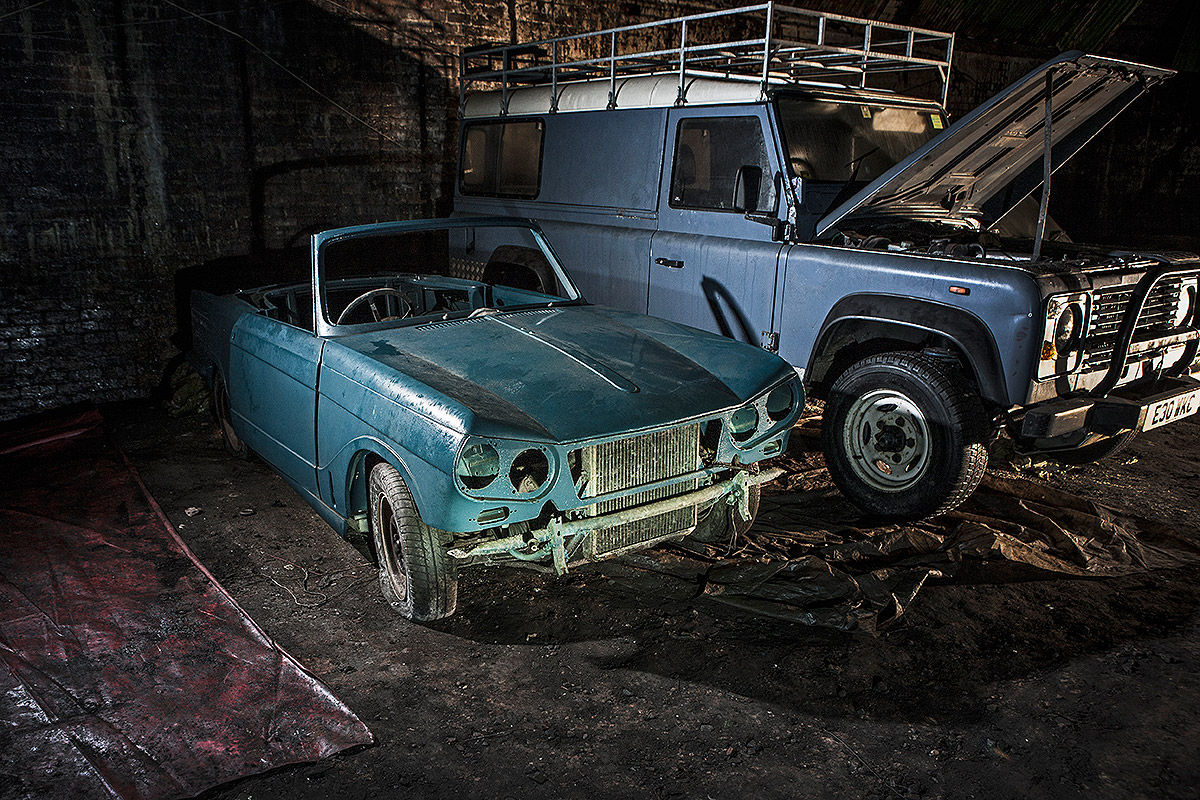Explore The Mysterious Cemetery Of Abandoned Cars In The Depths Of Liverpool