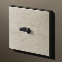 Stainless steel / Textured black (cone)