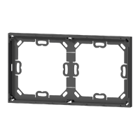 2-fold adapter frame for 71 series