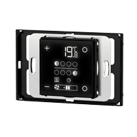 Room temperature controller 71 series for rectangular wall box