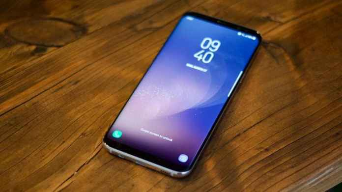 Galaxy s8 Display image