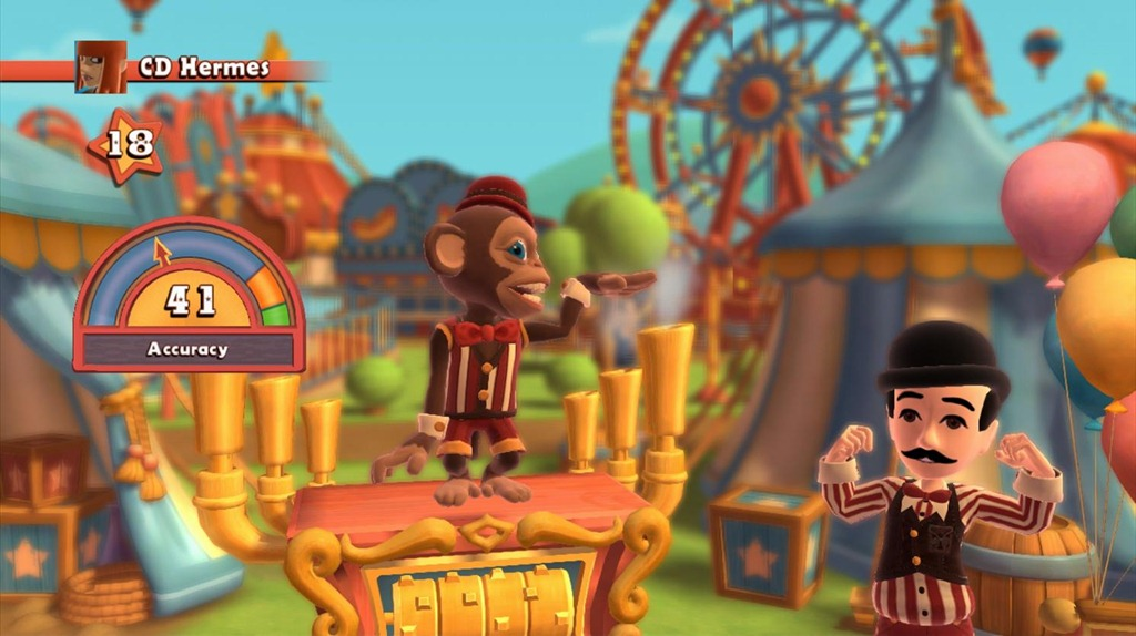 2K Plays Carnival Games Monkey See Monkey Do Delivers