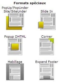 Blocage des espaces publicitaires sur internet