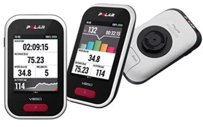 Rouler en confiance avec l'ordinateur de bord et GPS pour vélo Polar V650
