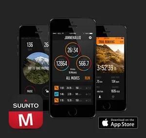 Suunto Movescount App pour suunto ambit3