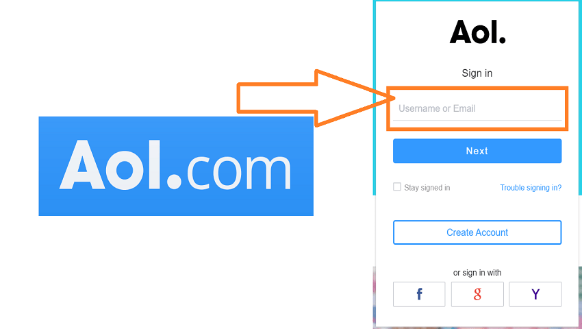 How to Delete a Saved Username on the AOL Login Page?