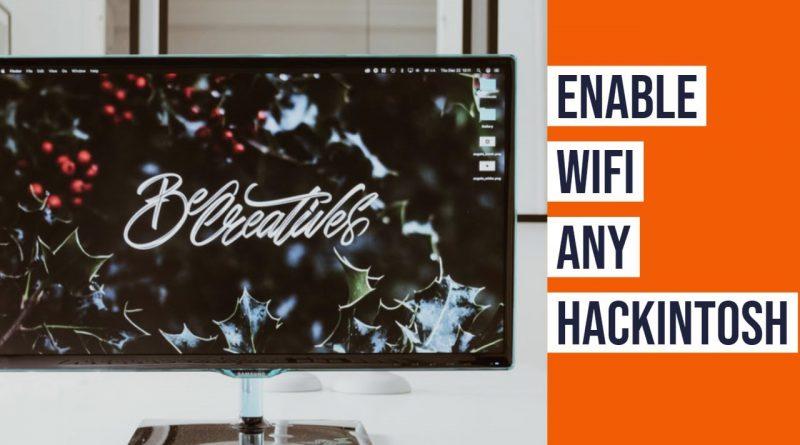 Hackintosh Wifi