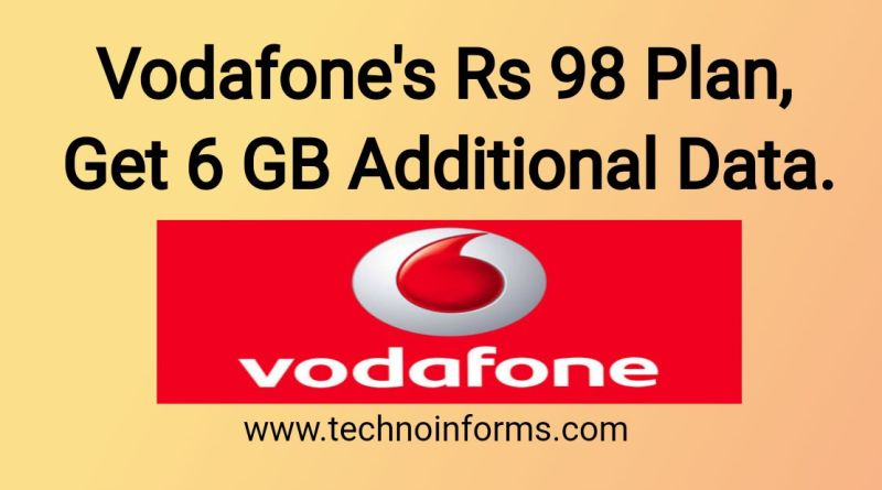 Vodafone's Rs 98 plan