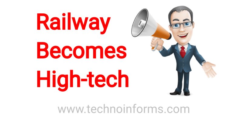 Railway becomes Hitech